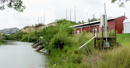 Pump Station at The Nueces River