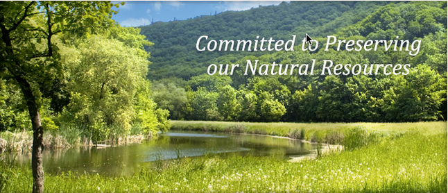 Preserving our Natural Resources